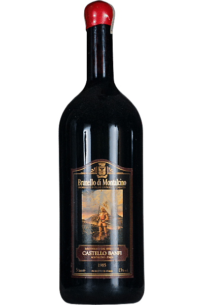 brunello di montalcino castello banfi 1985 5 lt
