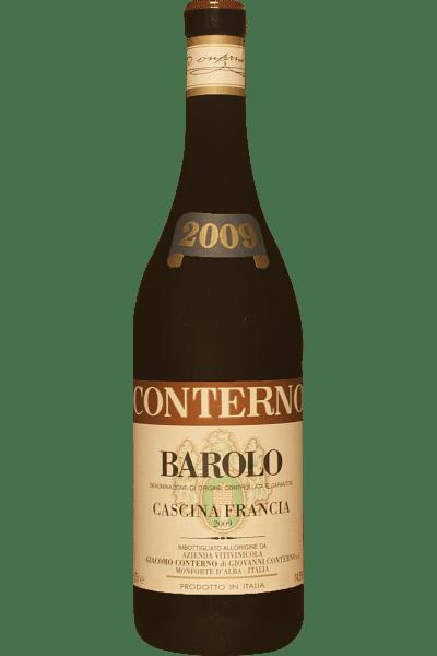 barolo g  conterno cascina francia 2009 1 5 lt