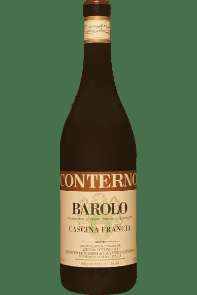 barolo cascina francia conterno 2012 0 75 lt
