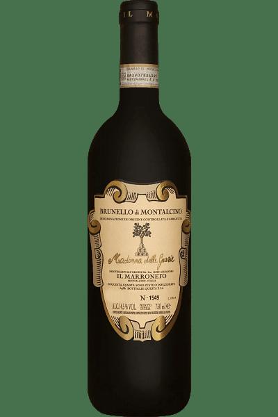brunello di montalcino il marroneto madonna delle grazie 2015 0 75 lt