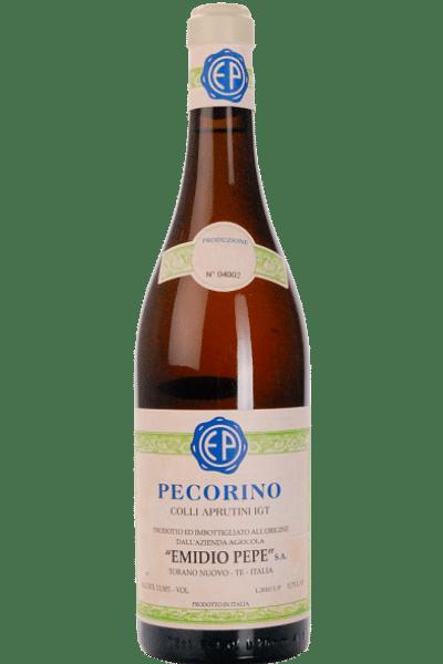 pecorino d'abruzzo emidio pepe 2017 0 75 lt