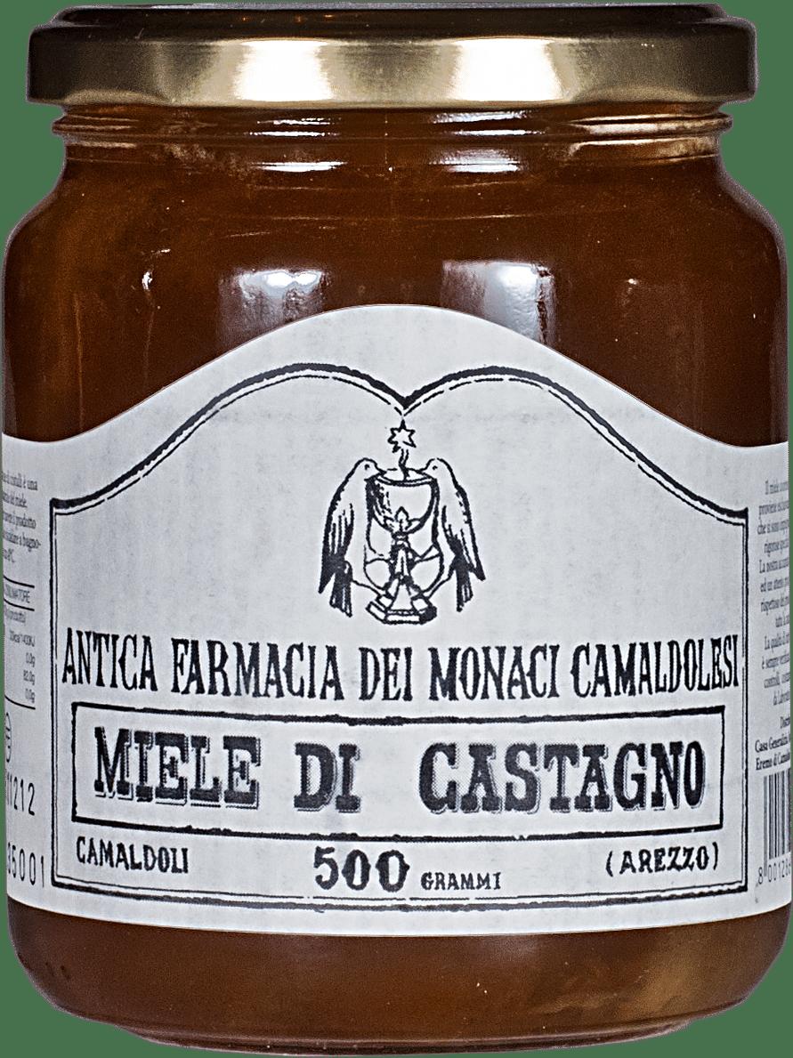Antica Farmacia Dei Monaci Camaldolesi.Chestnut Honey By Antica Farmacia Dei Monaci Camaldolesi 500 Gr Tapenades And Honey Food Enoteca Properzio