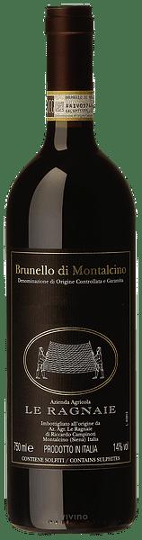 Brunello di Montalcino Le Ragnaie Casanovina Montosoli 2015 0.75 lt.
