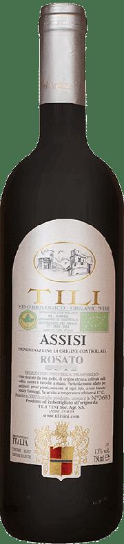 Assisi Rosato Bio Tili 2018 0.75 lt.