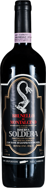 Brunello di Montalcino Riserva Soldera 2001 0.75 lt.