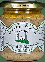 La Rustica del Professore with white truffle Enoteca Properzio 180 gr.