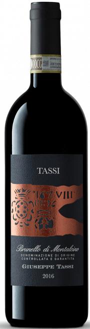 Brunello di Montalcino Tassi 2016 0.75 lt.