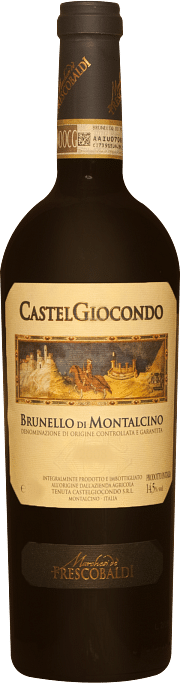 Brunello di Montalcino Castelgiocondo Marchesi de' Frescobaldi 2010 5 lt.
