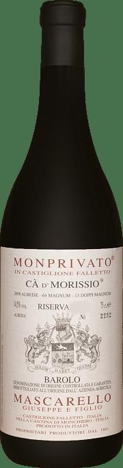 Monprivato Ca' d' Morissio Mascarello e Figlio Riserva 2012 3 lt.