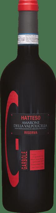 Hatteso Amarone della Valpolicella Riserva Garbole 2011 0.75 lt.