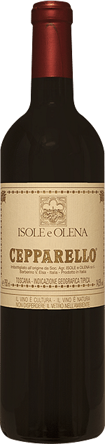 Cepparello Isole e Olena 2016 0.75 lt.