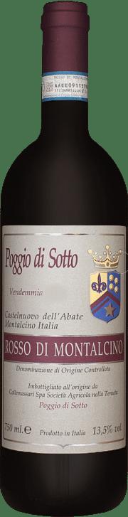 Rosso di Montalcino Poggio di Sotto 2011 0.75 lt.