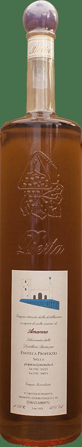 Grappa Amarone Berta Selezione Enoteca Properzio 1.5 lt.