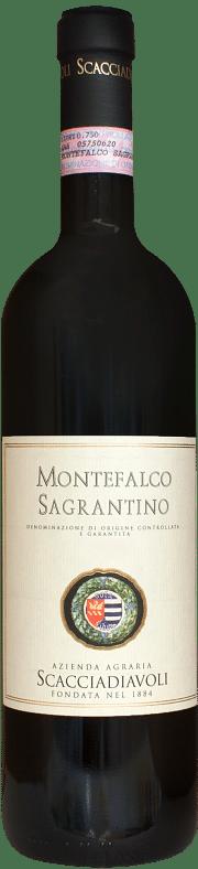 Sagrantino di Montefalco Azienda Agraria Scacciadiavoli 2016 0.75 lt.