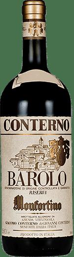 Barolo riserva Monfortino Giacomo Conterno 2014 0.75 lt.