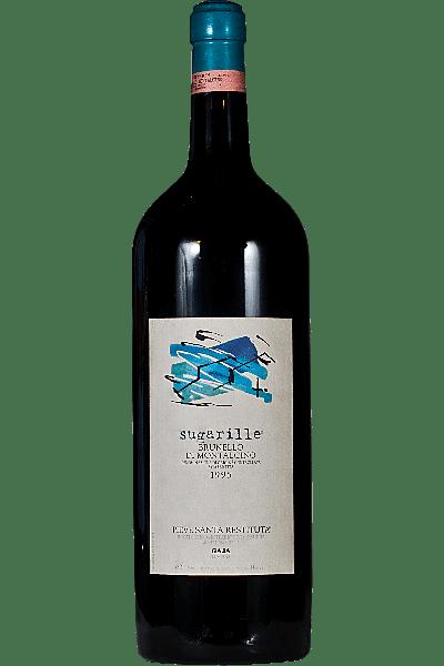 brunello di montalcino sugarille pieve santa restituta-gaja 1995 5 lt