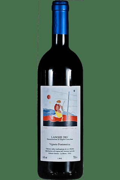 langhe rosso vigneto fontanazza voerzio 2001 0 75 lt