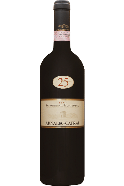 sagrantino di montefalco 25 anni caprai 2004 0,75 lt
