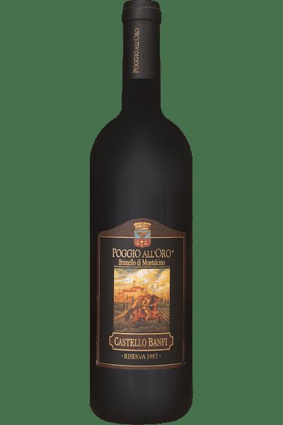 brunello di montalcino castello banfi 1997 0 75 lt