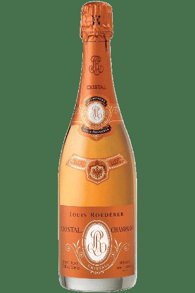 champagne cristal brut rosè louis roederer 2005 0 75 lt