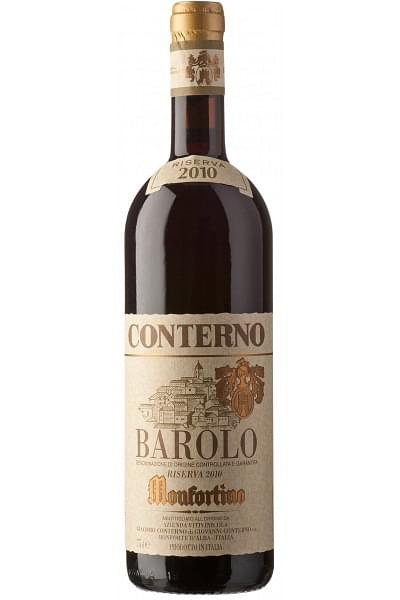 barolo monfortino riserva conterno 2010 0 75 lt