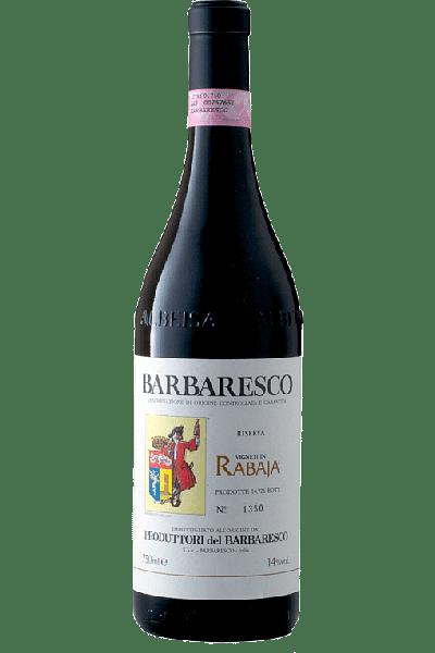 barbaresco riserva rabaja produttori del barbaresco 2016 0 75 lt