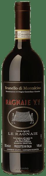 Brunello di Montalcino Le Ragnaie Vigna vecchia 2015 0.75 lt.