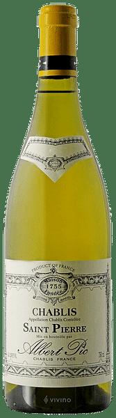 Chablis Saint Pierre Albert Pic 2019 0.75 lt.