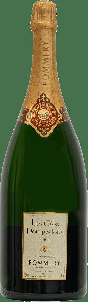Les Clos Pompadour Champagne Pommery 1.5 lt.