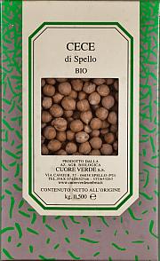 Cece biologico Cuore Verde 500 gr.