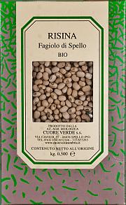 Risina biologica Cuore Verde 500 gr.