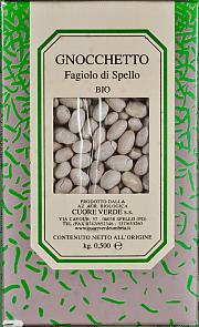 Gnocchetto biologico Cuore Verde 500 gr.