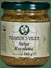 Salsa Rucoletta Frantoio Verde 180 gr.
