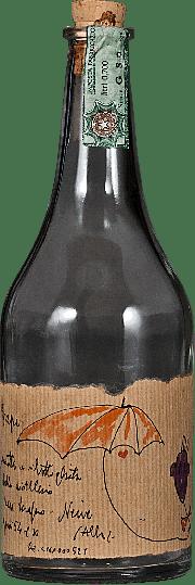Bottiglia vuota da collezione Grappa Romano Levi