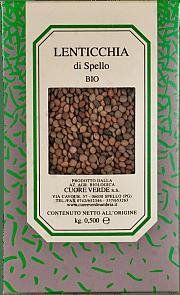 Lenticchia biologica Cuore Verde 500 gr.