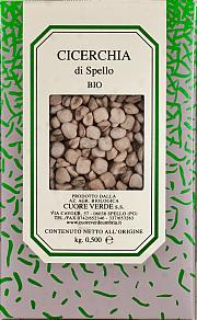 Cicerchia biologica Cuore Verde 500 gr.