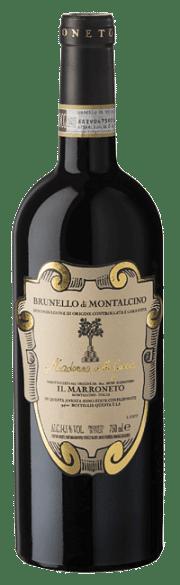 Brunello di Montalcino Il Marroneto Madonna delle Grazie 2016 0.75 lt.