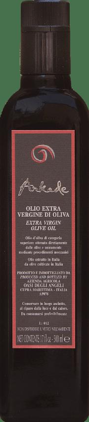 Olio Extra Vergine di Oliva Arkade Oasi degli Angeli 0.50 lt.