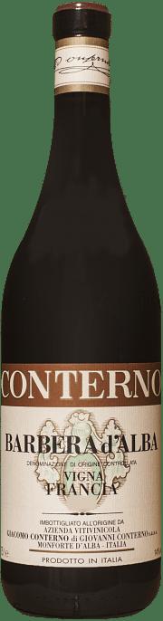 Barbera d'Alba G. Conterno Francia 2018 0.75 lt.