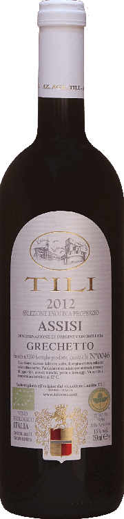 Assisi Grechetto Selezione Enoteca Properzio Tili 2018 0.75 lt.