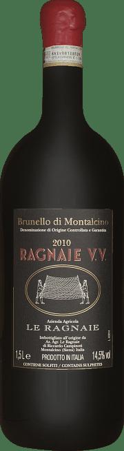 Brunello di Montalcino Le Ragnaie Vigna vecchia 2010 1.5 lt.