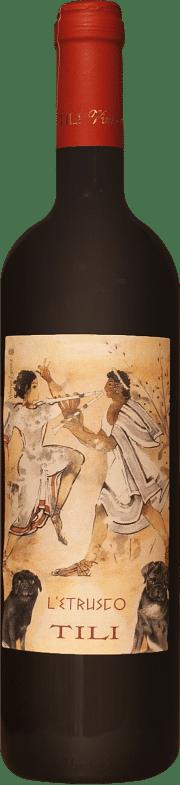 Etrusco Merlot Tili 2016 0.75 lt.