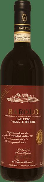 Barolo Falletto Vigna Le Rocche riserva Bruno Giacosa 2014 1.5 lt.