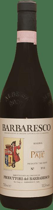 Barbaresco Riserva Paje Produttori del Barbaresco 2016 0.75 lt.