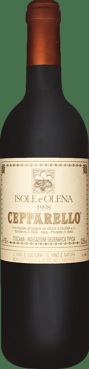 Cepparello Isole e Olena 1998 1.5 lt.