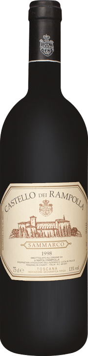 Castello dei Rampolla Sammarco 1998 10.75 lt.