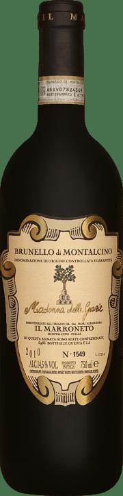 Brunello di Montalcino Il Marroneto Madonna delle Grazie 2010 1.5 lt.