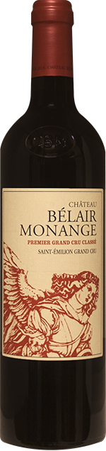 Chateau Bel Air Monange Grand Cru 2015 0.75 lt.