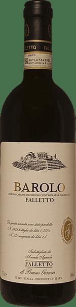 Barolo Falletto Giacosa 2016 0.75 lt.