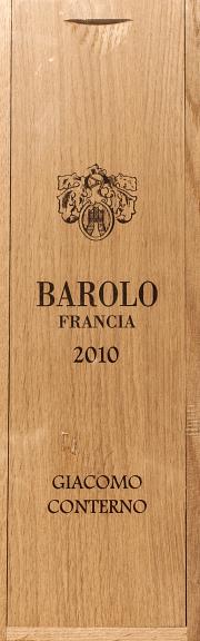 Barolo Francia Giacomo Conterno 2010 1.5 lt.